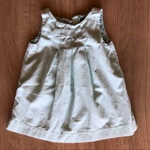 Baby Gap light mint green dress size 12-18 months